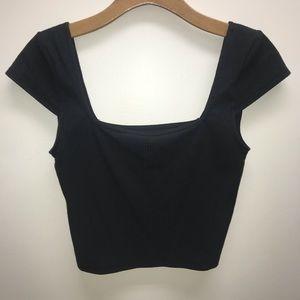 PacSun Short Sleeve Crop Top